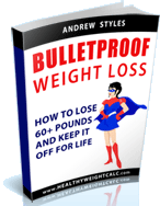 Get our FREE eBook - Bulletproof WeightLoss